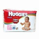 Huggies Snug & Dry ~Size 2 ~48 Diapers - 1