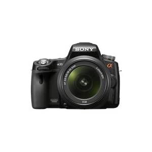 21kIK1839KL. SL500 AA300  Sony Alpha SLTA33L 14.2MP DSLR Digital Camera   $700 + Free Shipping