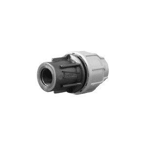 Boutt 2137969 PEF32 - Raccordo in plastica per tubo polietilene femmina, 26 x 34, per tubi  32