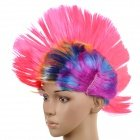 Stylish PET Cockscomb Wig for Halloween / Costume Party - Multicolored