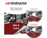 img - for CNC Programming Workbook - Mill & Lathe book / textbook / text book