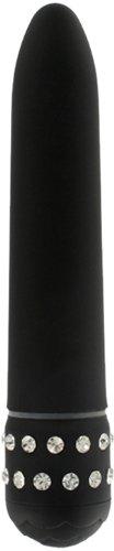 Toy Joy Diamond Superbe Vibrator 15.5 cm x 2.5 cm Waterproof Black