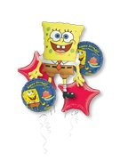 SpongeBob Balloon Bouquet - Party Supplies