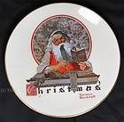 Gorham 1977 Christmas Plate Yuletide Reckoning - New