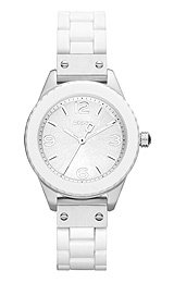 DKNY 3-Hand Analog Silicone Women's watch #NY8574