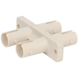 "Belkin International, Inc - Belkin Fiber Optic Duplex Coupler - 2 X St Female Network - 2 X St Female Network ""Product Category: Hardware Connectivity/Connector Adapters"""
