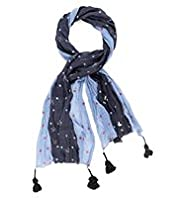 Per Una Spotted & Bird Print Scarf