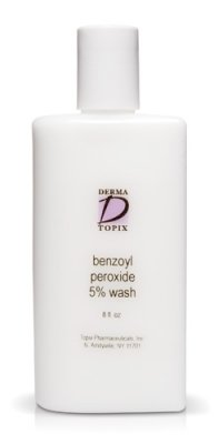 Topix Benzoyl Peroxide 10% Wash 8 oz bottle