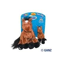 Webkinz Brown Arabian Horse &amp; Kinz Klip Arabian Horse