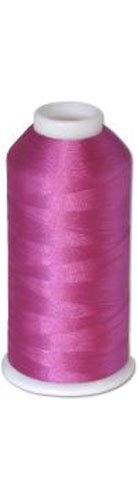 12-cone Commercial Polyester Embroidery Thread Kit - Light Plum P567 - 5500 yards - 40wt