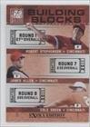 James Allen, Cole Green, Robert Stephenson Conner Greene, Juan Duran, Cincinnati Reds (Baseball Card) 2011 Donruss Elite Extra Edition Building Blocks Trios #5