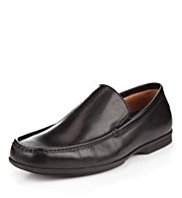 Airflex™ Flexi Leather Slip-On Loafers with Freshfeet™ Silver Technology