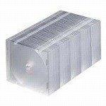 サンワサプライ DVD・CDケース(クリア) FCD-U50CN
