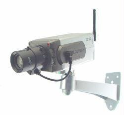 Dummy Camera w/Zoom Lens/Wireless