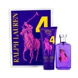 Ralph Lauren Big Pony Collection #4 Purple Coffret: Eau De Toilette Spray 100ml/3.4oz + Hydrating Body Lotion 200ml/6.7oz - 2pcs