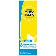 tidy-cats-drawstring-litter-box-liners-for-multiple-cats-8-count-by-nestle-purina-petcare-company