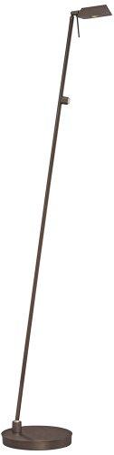 Kovacs P4314-647 1 Light Led Floor Lamp In Copper Bronze Patina From The George', Copper Bronze Patina
