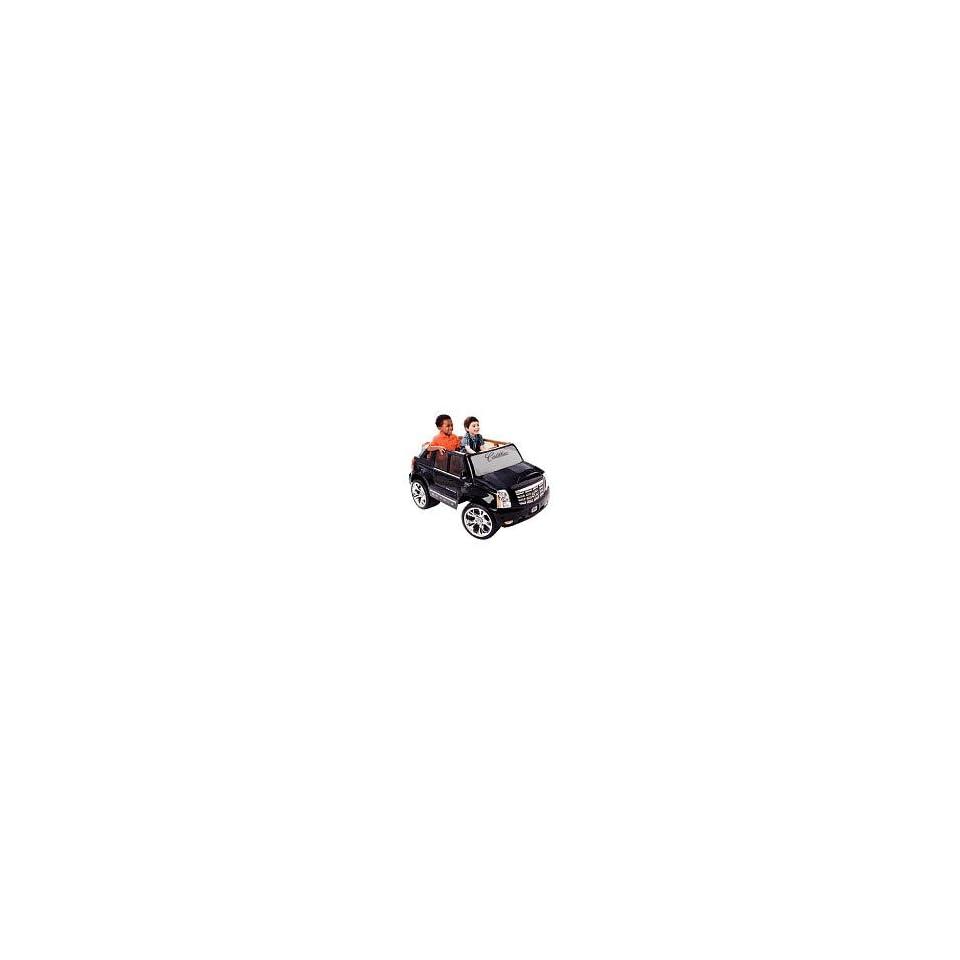 Power Wheels Black Cadillac Escalade 2008   Toys R Us Exclusive