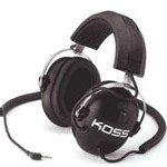 Koss Qz/99 Stereo Headphones W/Noise Reduction & Volume Control