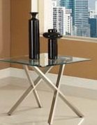 Cheap 20″H Seble Contemporary Chrome Rectangular End Table (AC-80050)