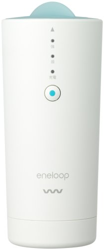 Sanyo Eneloop Air Fresher Portable Space Clean Machine White