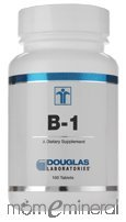 B-1 100 mg 100 Tablets by Douglas Labs