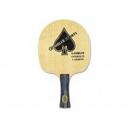 Gambler Oversized Carbon Table Tennis Blade Handle-Flared (Table Tennis Blade Carbon compare prices)