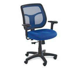 "Eurotech Apollo Mesh Back Task Chair - 18-21-1/2"" Seat Height - Green - Green"