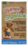 Yummi Bears Organics Multi-Vitamin, Gummy Vitamins for Children, 90-Count Bottle