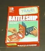 Battleship Travel Game by Milton Bradley - 1989 - Exciting Naval Strategy Game