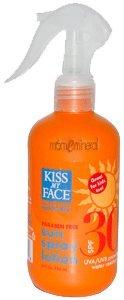 SC, Sun Spray Lotion, SPF 30, 8 fl oz (236 ml) by Kiss My Face