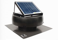 Images for Solar Powered Attic Fan 1010TR