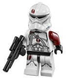 LEGO Star Wars LOOSE Minifigure Saleucami BARC Trooper with Blaster