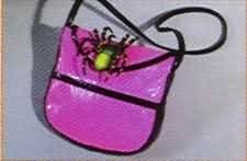 Costume Funky Witch Purse with Spider