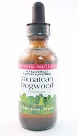 Eclectic Institute Inc Jamaican Dogwood, 2 Oz with Alcohol