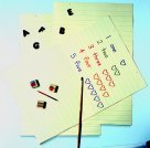 Pacon 24 x 36 in. Jumbo Ruled Tagboard, Pack - 100