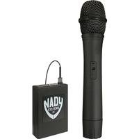 Nady 351Vr Vhf Wireless Handheld Microphone System For Camcorders, Includes 351Vr Receiver, Wht Handheld Microphone Transmitter, E/215.200 Mhz
