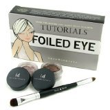 Bare Escentuals BareMinerals Folied Eye Tutorials: Glimmer 0.57g + Glimpse 0.57g + Foil & Fuse Eye Brush - 3pcs