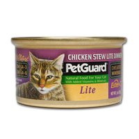 Petguard Chicken Stew Lite Dinner For Cats