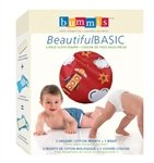 Bummis Beautiful Basic 2-piece Cloth Diaper, Boy, Large