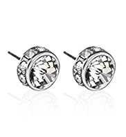 Autograph Round Diamanté Stud Earrings MADE WITH SWAROVSKI® ELEMENTS