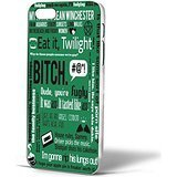 Dean Winchester Supernatural Quotes Bitch for Iphone Case (iPhone 6s plus White ) (Dean Quotes compare prices)