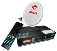 AIRTEL HD SET TOP BOX WITH RECORDING AND ECO SPORTS PACKAGE