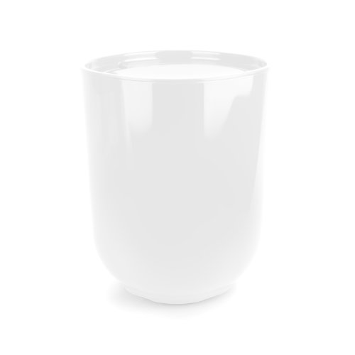 Umbra Step Waste Can with Lid, White (Trash Can With Lid White compare prices)