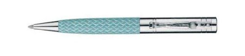 Yard-O-Led Esprit Diamond Cut Blue Lacquer Ballpoint Pen - Yd-945041