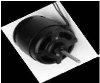 5KSM92KFL2008S, 5KSP11FG1377, 5KSP11FG1541S; Emerson F33HXFRH-2649 1/20hp, 230v, 1550rpm, Clockwise Rotation OEM Replacement Motor GE 1336