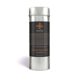 Art Of Tea Endurance Ayurveda Pyramid Teabags Artisan Tea Tin 15 Sachets