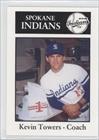 Kevin Towers CO (Baseball Card) 1989 Spokane Indians Sports Pro #23 by Spokane Indians Sports Pro