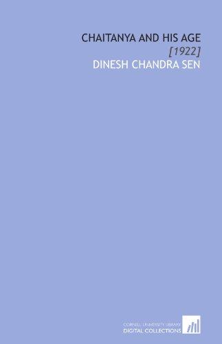 Chaitanya and His Age: [1922]