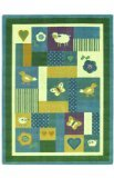 "Joy Carpets Kid Essentials Infants & Toddlers Baby Love Rug, Soft, 10'9"" x 13'2"""